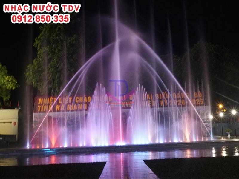 Dự Án Nhạc Nước Quảng trường 26/3 TP Hà Giang