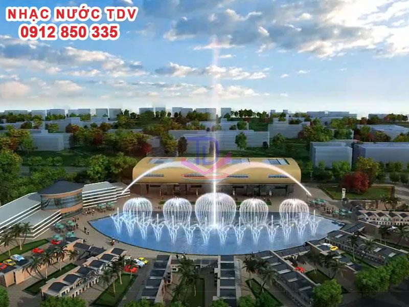 Thiết kế Quảng trường Nhạc nước 3D