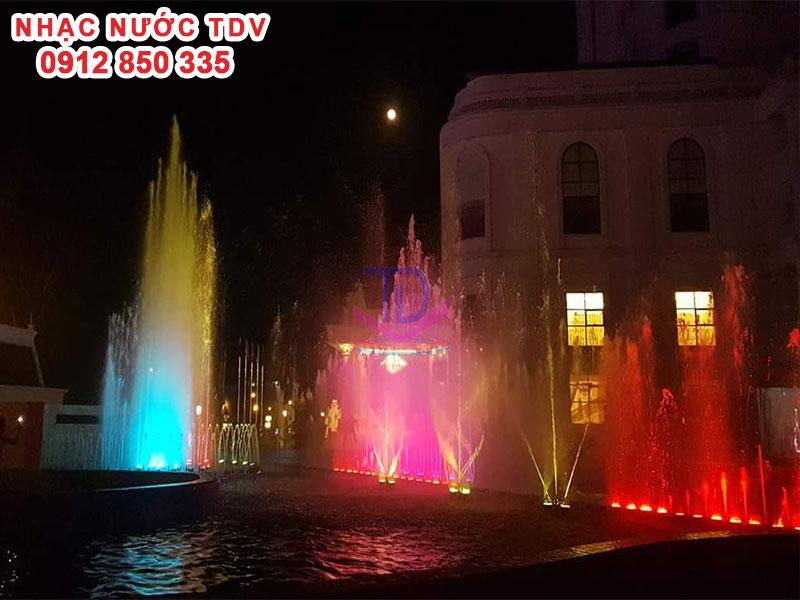 Dự án Nhạc nước khách sạn Hoàng Nhâm – Lai Châu