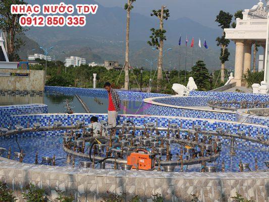 Dự án nhạc nước khách sạn Hoàng Nhâm 5