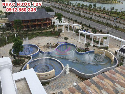 Nhạc nước khách sạn Hoàng Nhâm 5