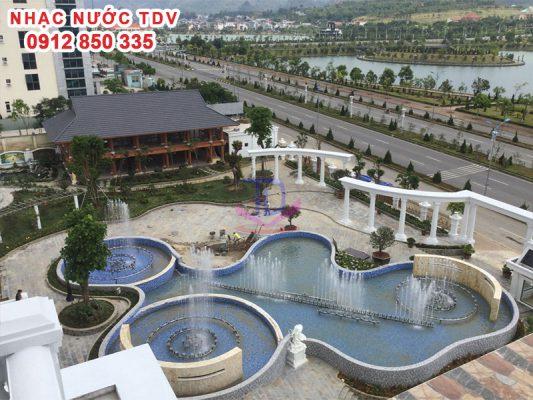 Nhạc nước khách sạn Hoàng Nhâm 6