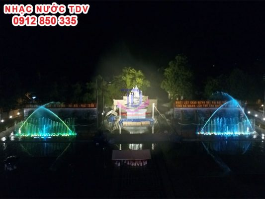 Nhạc nước quảng trường 26/3 TP Hà Giang 1