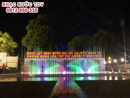 Nhạc nước quảng trường 26/3 TP Hà Giang 11