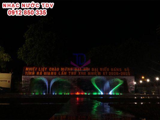 Nhạc nước quảng trường 26/3 TP Hà Giang 14
