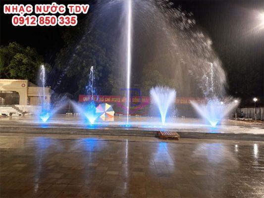 Nhạc nước quảng trường 26/3 TP Hà Giang 15