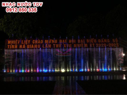 Nhạc nước quảng trường 26/3 TP Hà Giang 7