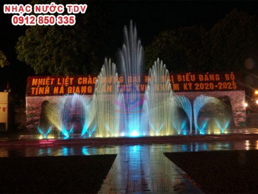 Nhạc nước quảng trường 26/3 TP Hà Giang 9