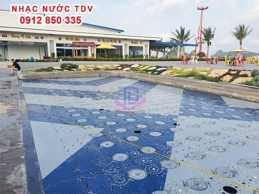 Nhạc nước quảng trường biển KĐT Phương Đông 14