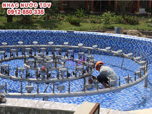 Nhạc nước TDV Đơn vị thiết kế thi công Nhạc nước 16