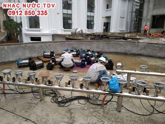 Nhạc nước TDV Đơn vị thiết kế thi công Nhạc nước 17
