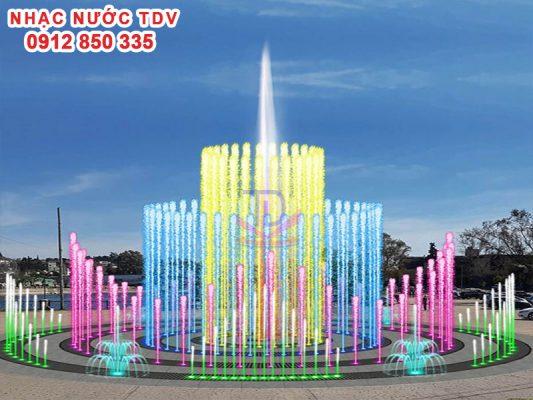 Nhạc nước TDV Đơn vị thiết kế thi công Nhạc nước 25