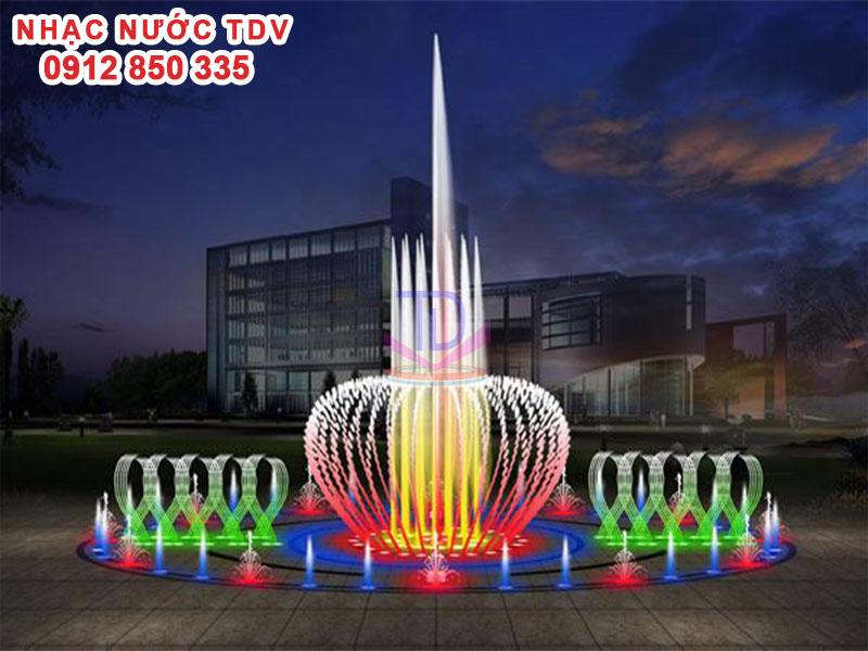 Nhạc nước TDV Đơn vị thiết kế thi công Nhạc nước 29