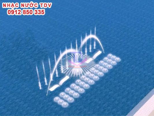 Nhạc nước TDV Đơn vị thiết kế thi công Nhạc nước 35
