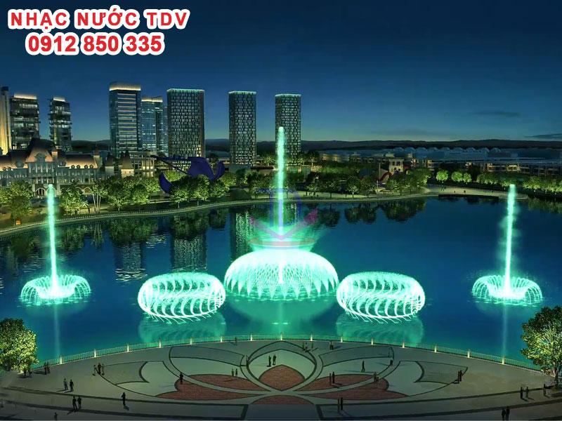 Nhạc nước TDV Đơn vị thiết kế thi công Nhạc nước 36