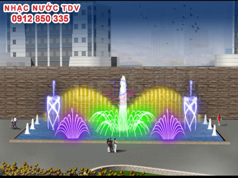 Nhạc nước TDV Đơn vị thiết kế thi công Nhạc nước 42