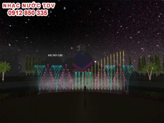Thiết kế cải tạo nhạc nước Thiên đường Bảo Sơn 2