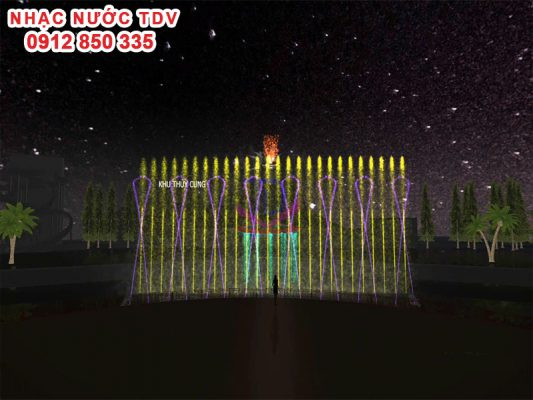 Thiết kế cải tạo nhạc nước Thiên đường Bảo Sơn 3
