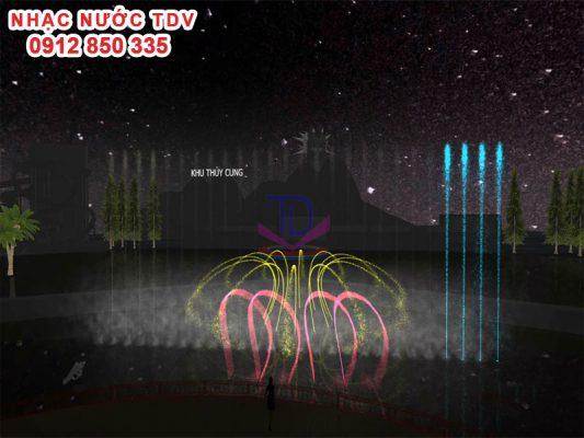Thiết kế cải tạo nhạc nước Thiên đường Bảo Sơn 4