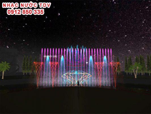Thiết kế cải tạo nhạc nước Thiên đường Bảo Sơn 6