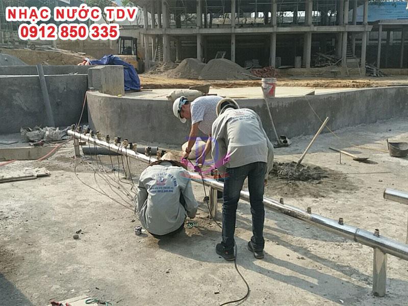 Sửa chữa hệ thống Nhạc nước – Nâng cấp – cải tạo – bảo trì – thay thế thiết bị