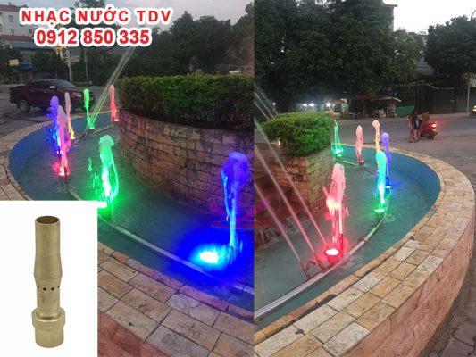 Vòi phun nước - Đầu phun nước nghệ thuật 11