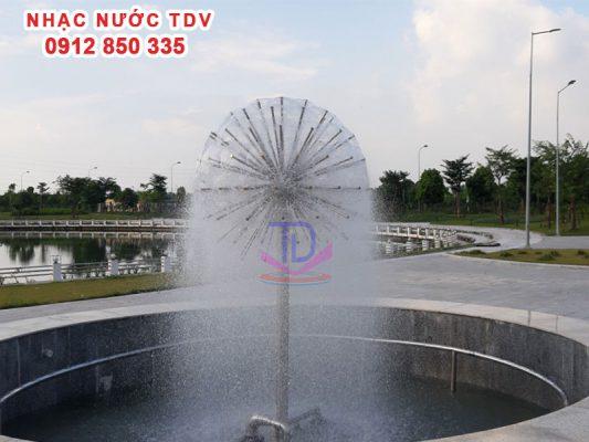 Vòi phun nước - Đầu phun nước nghệ thuật 21