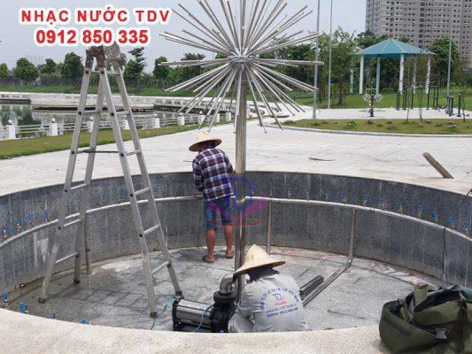 Vòi phun nước - Đầu phun nước nghệ thuật 22