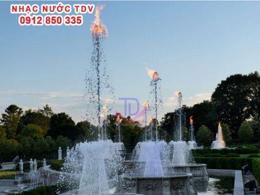 Vòi phun nước - Đầu phun nước nghệ thuật 25