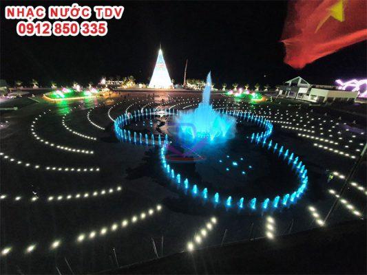 Đèn Led Nhạc nước - Đèn Led đài phun nước 4