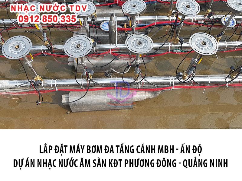 Máy bơm chìm MBH công suất 2HP, 3HP, 5HP, 7.5HP, 10HP (Đủ CO – CQ)