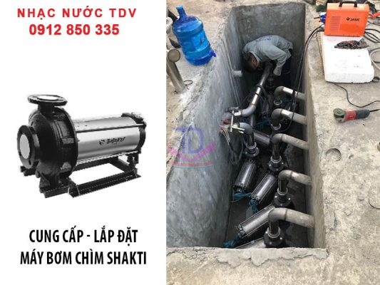 Máy bơm đài phun nước nhập khẩu Ấn Độ 2