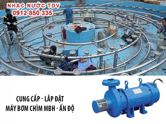 Máy bơm đài phun nước nhập khẩu Ấn Độ 4
