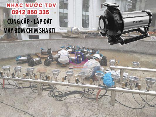 Máy bơm đài phun nước nhập khẩu Ấn Độ 7