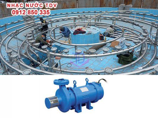 Máy bơm nhạc nước - Máy bơm đài phun nước 4