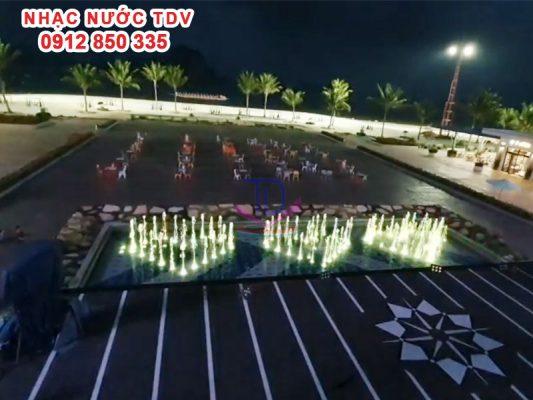 Nhạc nước quảng trường biển KĐT Phương Đông 16