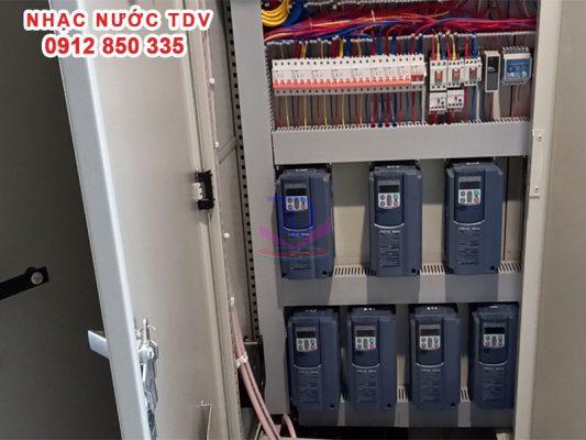 Tủ điện nhạc nước - Tủ điện điều khiển đài phun nước 2