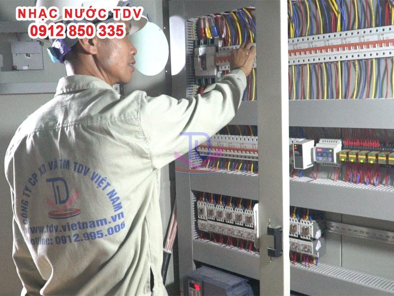 Tủ điện Nhạc nước – Tủ điện điều khiển Đài phun nước