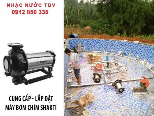 Báo giá máy bơm chìm đài phun nước - máy bơm nhạc nước 14