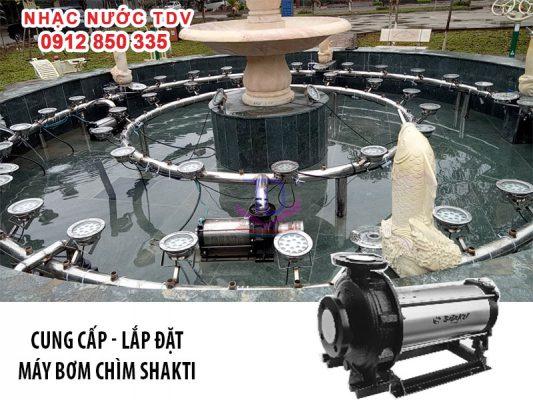 Báo giá máy bơm chìm đài phun nước - máy bơm nhạc nước 15