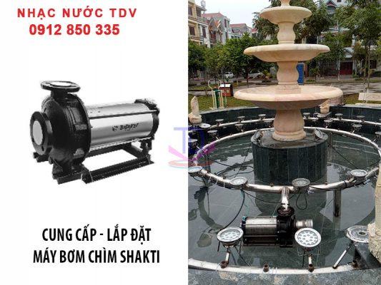 Báo giá máy bơm chìm đài phun nước - máy bơm nhạc nước 16