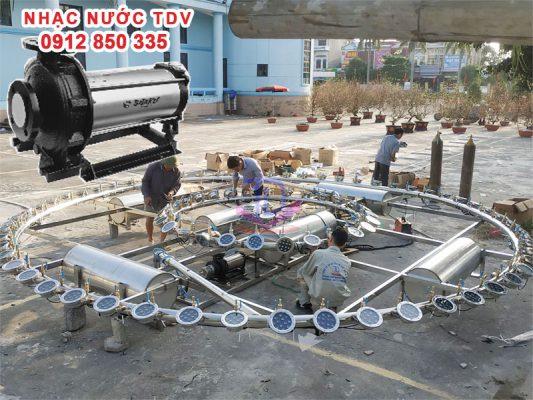 Báo giá máy bơm chìm đài phun nước - máy bơm nhạc nước 17