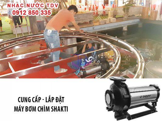 Báo giá máy bơm chìm đài phun nước - máy bơm nhạc nước 18