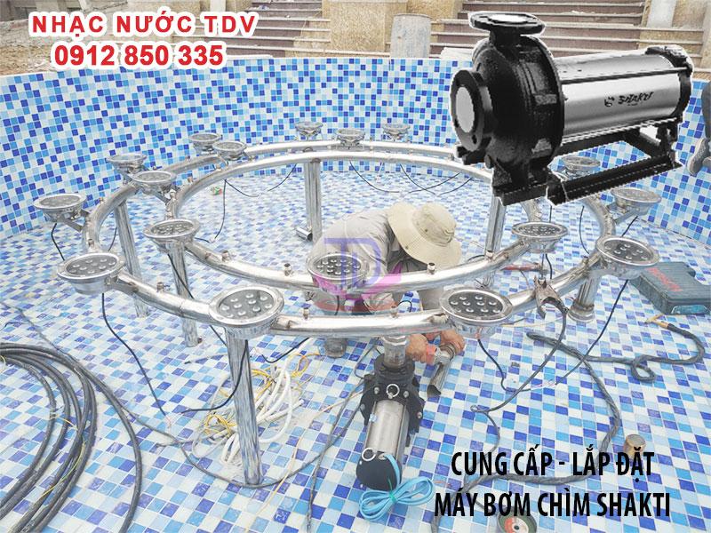 Báo giá máy bơm chìm đài phun nước - máy bơm nhạc nước 19