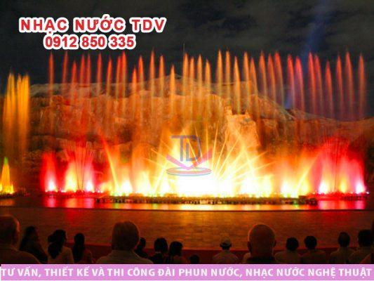 Nhạc nước Vinpearl Nha Trang (VINWONDERS NHA TRANG)