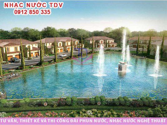 Đài phun nước cho resort
