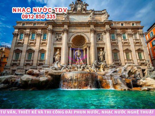 Đài phun nước Trevi - Nguyện ước thành Rome