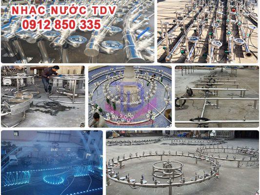 Sản xuất thiết bị đài phun nước 3