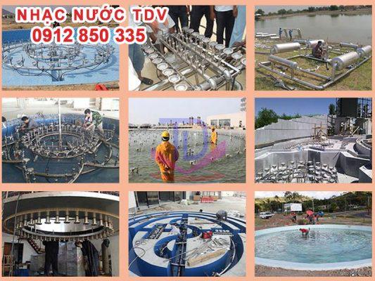Sản xuất thiết bị đài phun nước 4