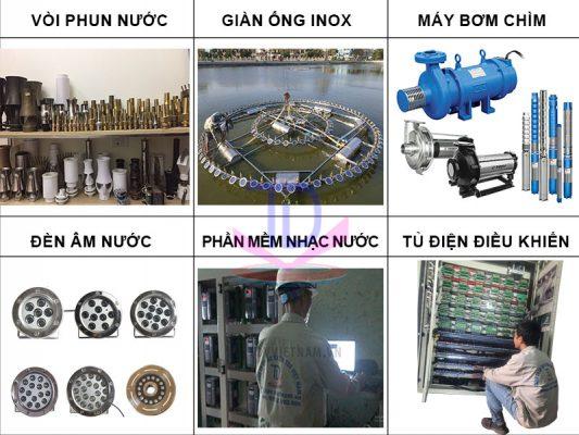 Sản xuất thiết bị đài phun nước 5